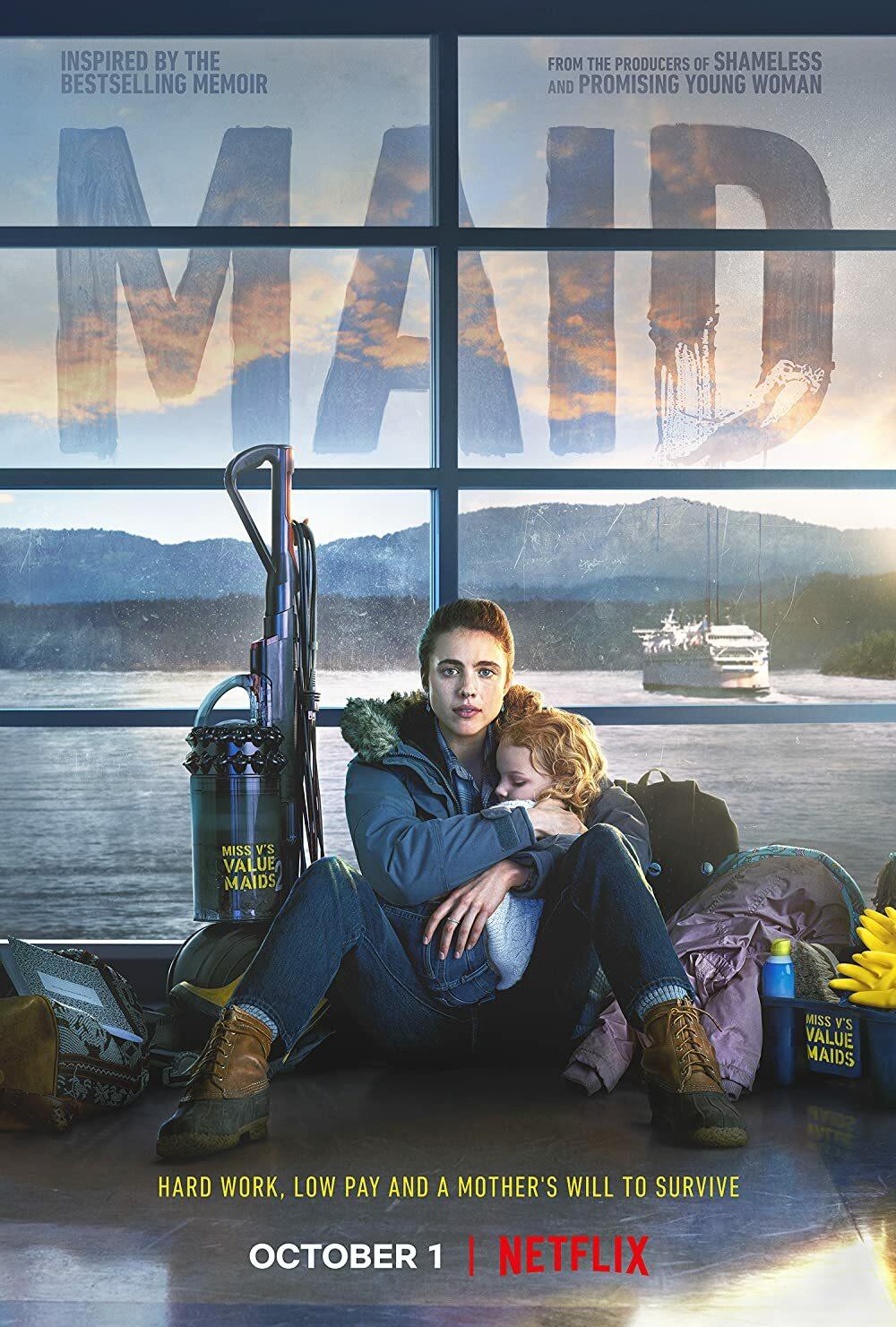 Maid Netflix Mini Series Cover