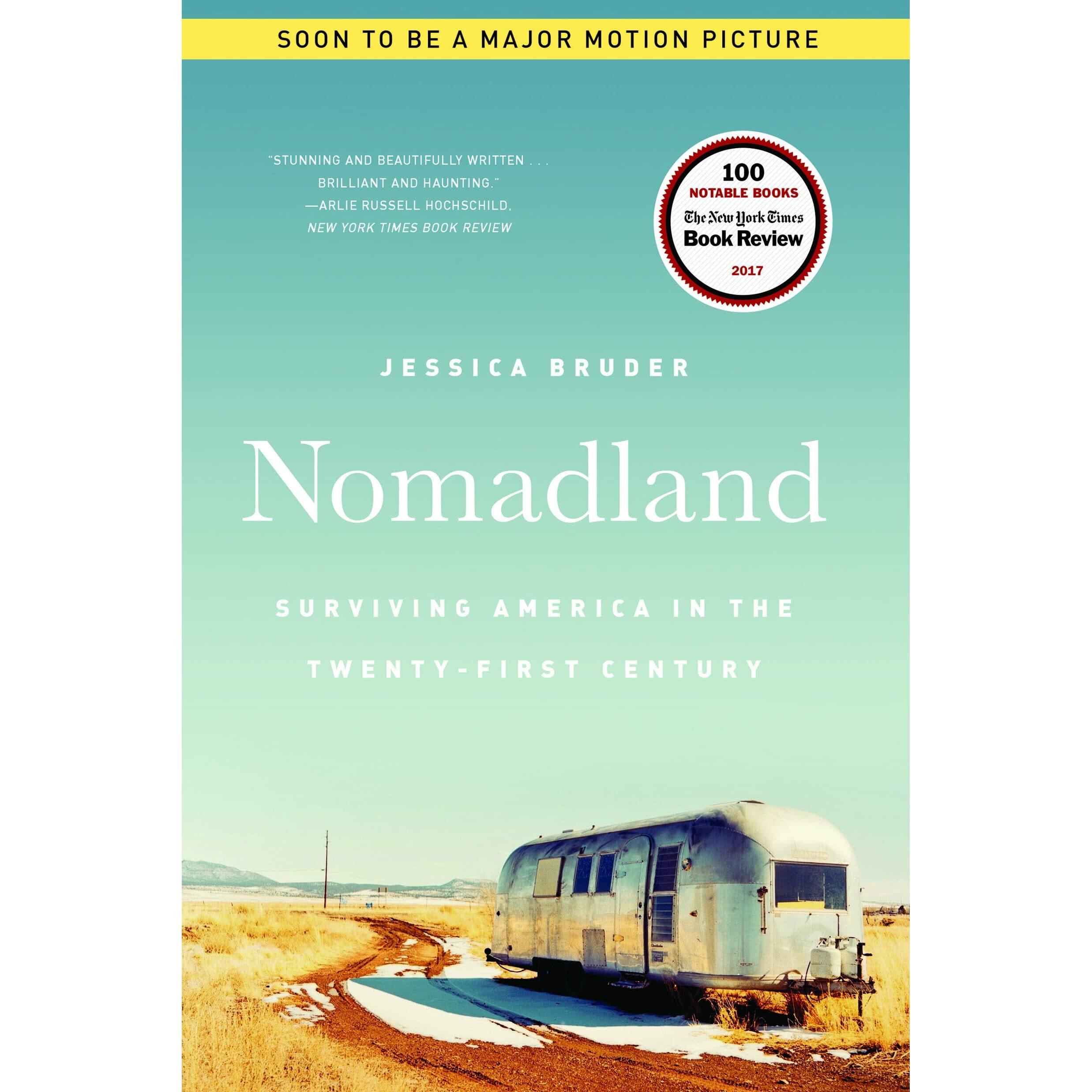 Nomadland book by Jessica Bruder
